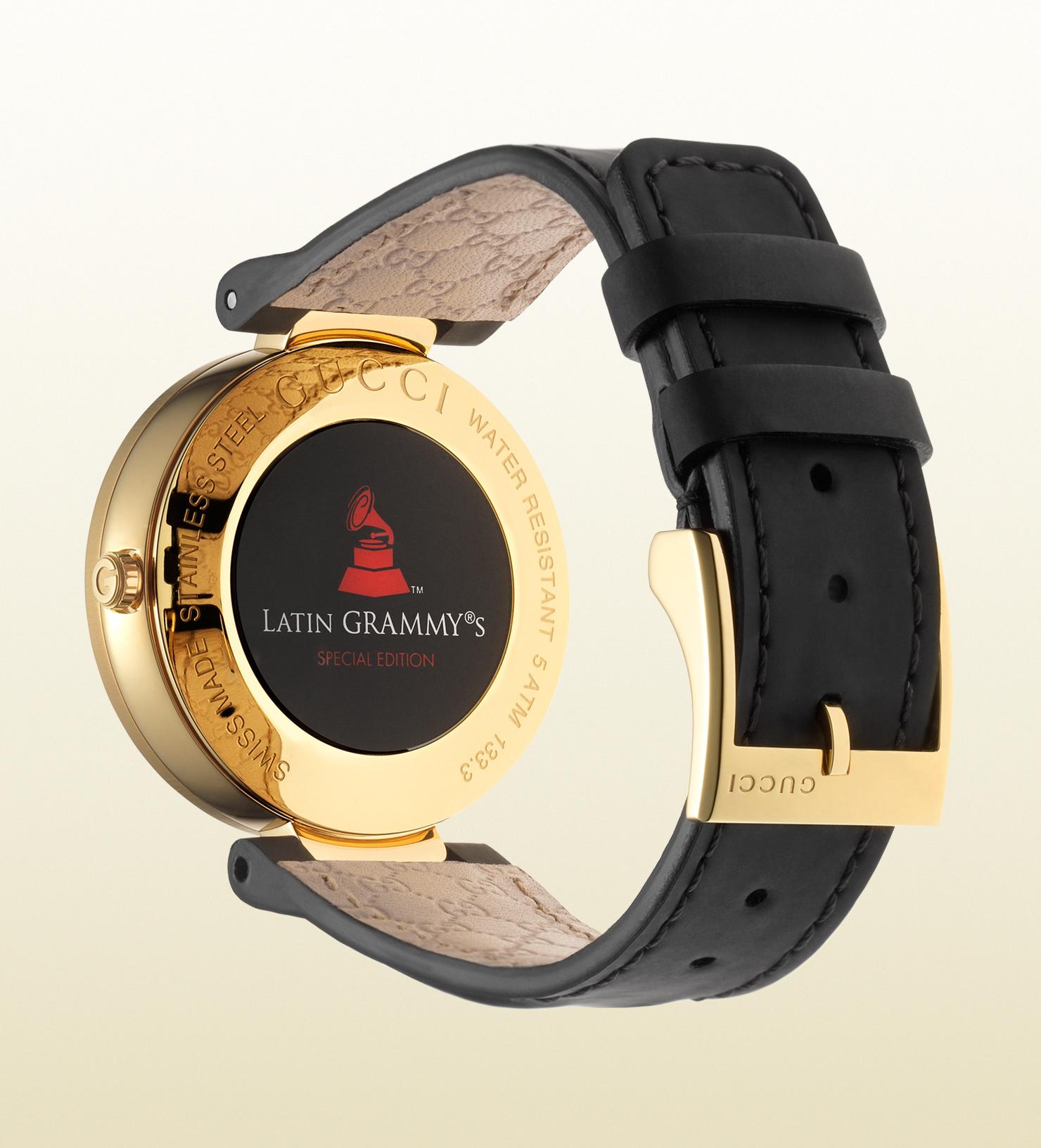 db204b4e044 Lyst - Gucci Latin Grammy® Special Edition Interlocking Watch in Metallic  for Men
