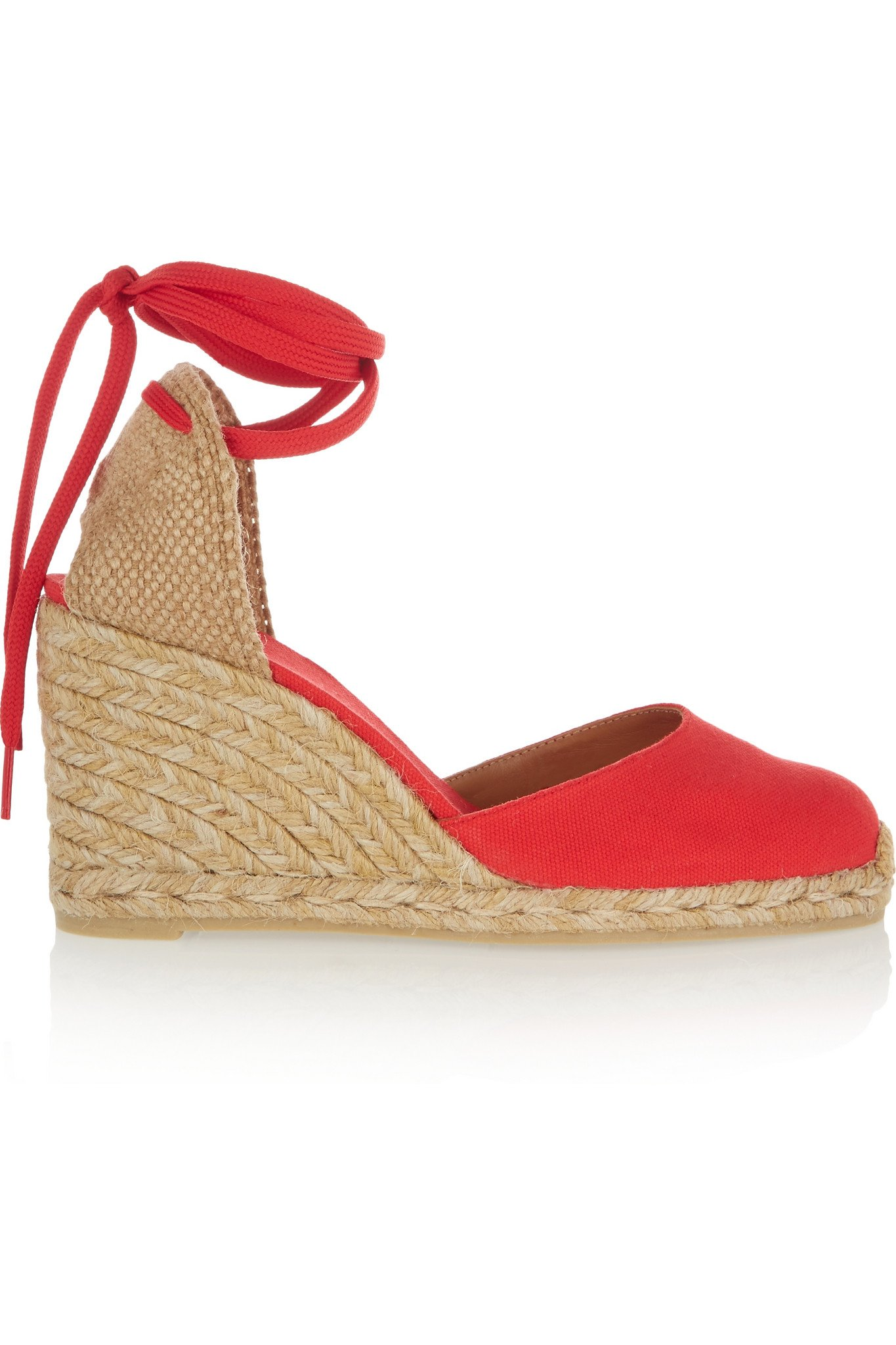 Red Wedge Shoes Uk