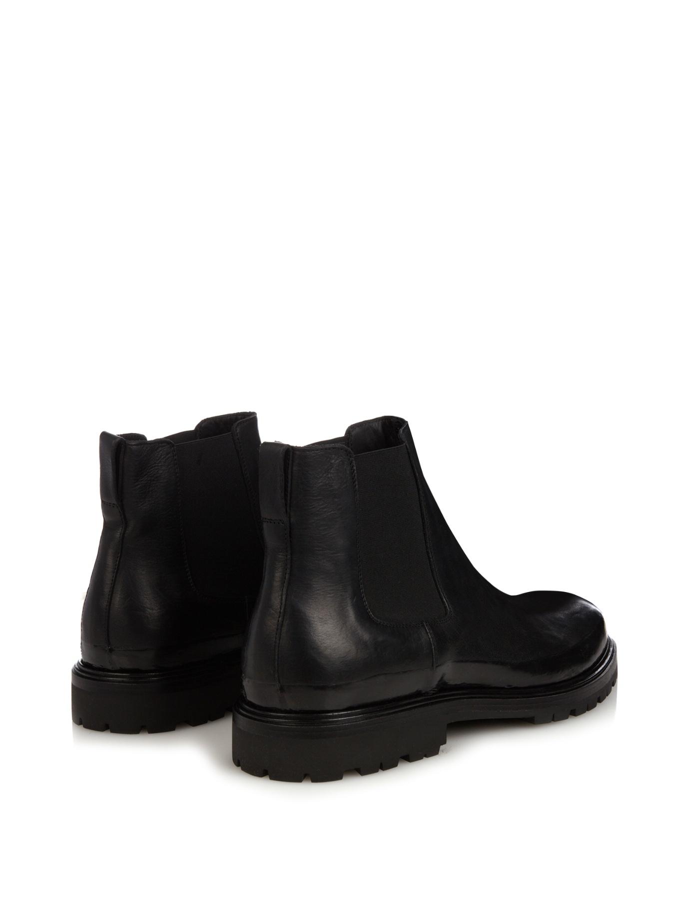 Simple Bottega Veneta Suede Chelsea Boots In Natural For Men  Lyst