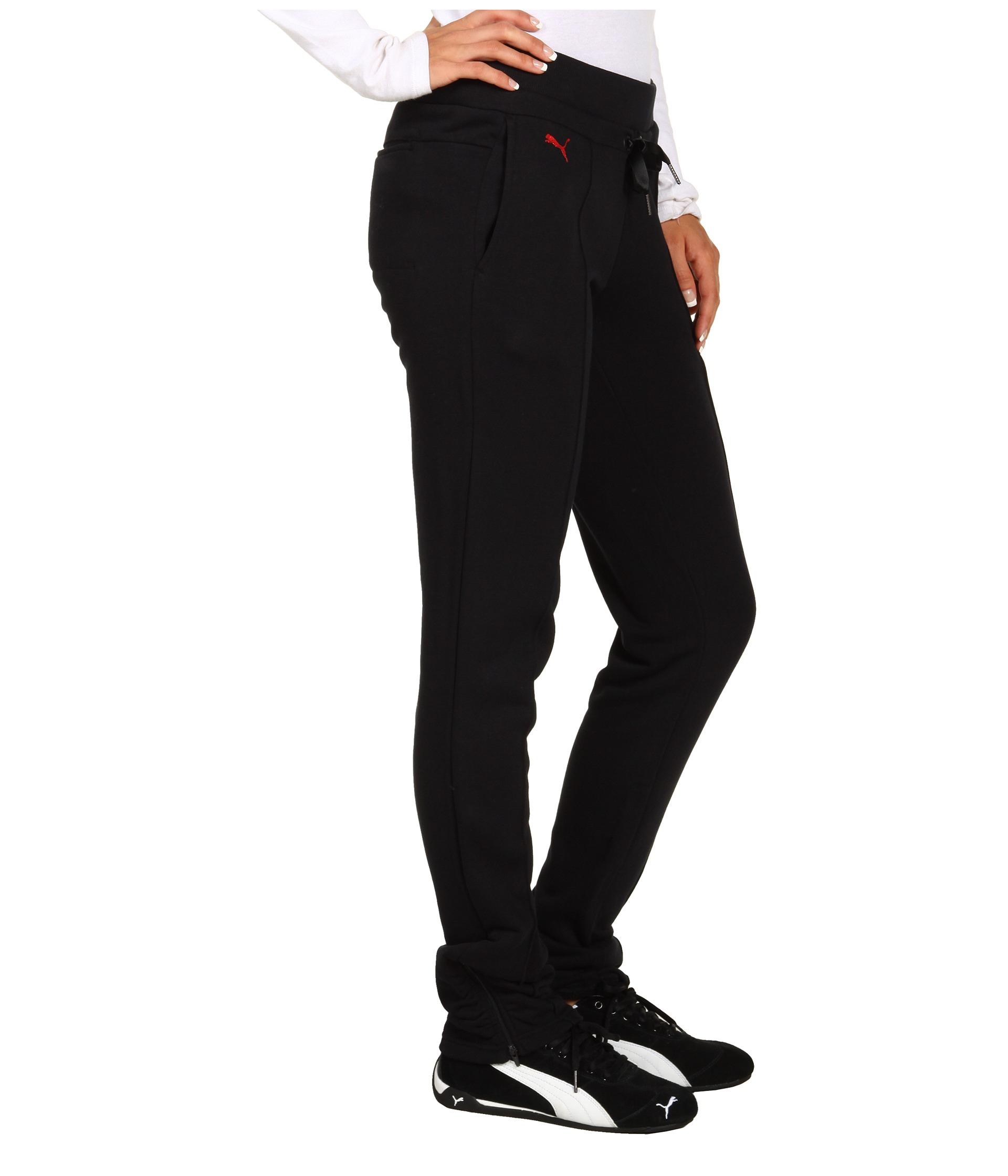 Puma Ferrari Sweat Pants In Black