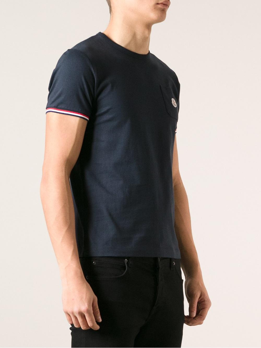 moncler classic t shirt