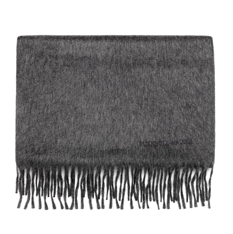 a10e3e4d2c905 Turnbull & Asser Pure Cashmere Scarf In Dark Grey in Gray for Men - Lyst