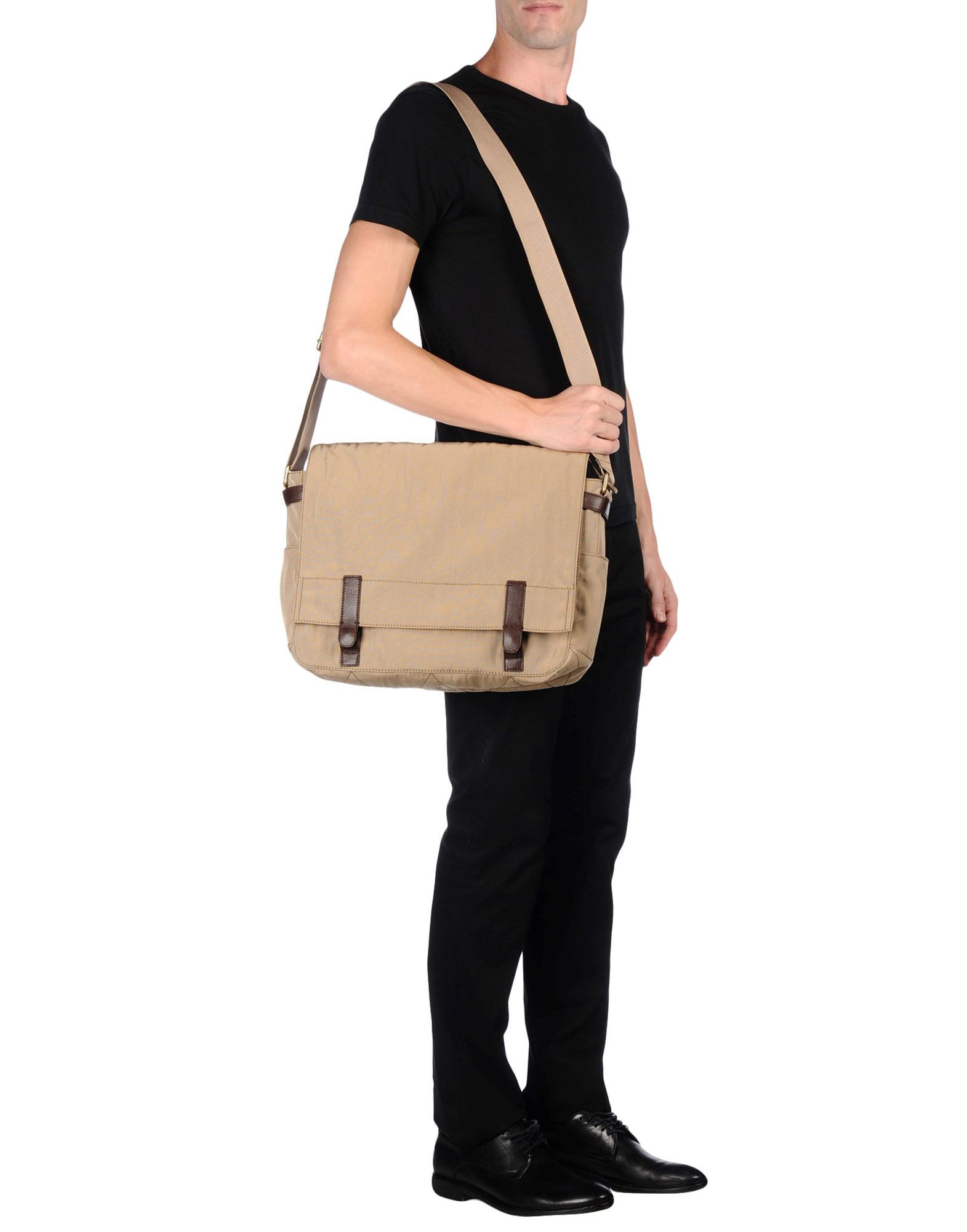 Fossil Cross-body Bag in Natural for Men - Lyst 1c4096f580111