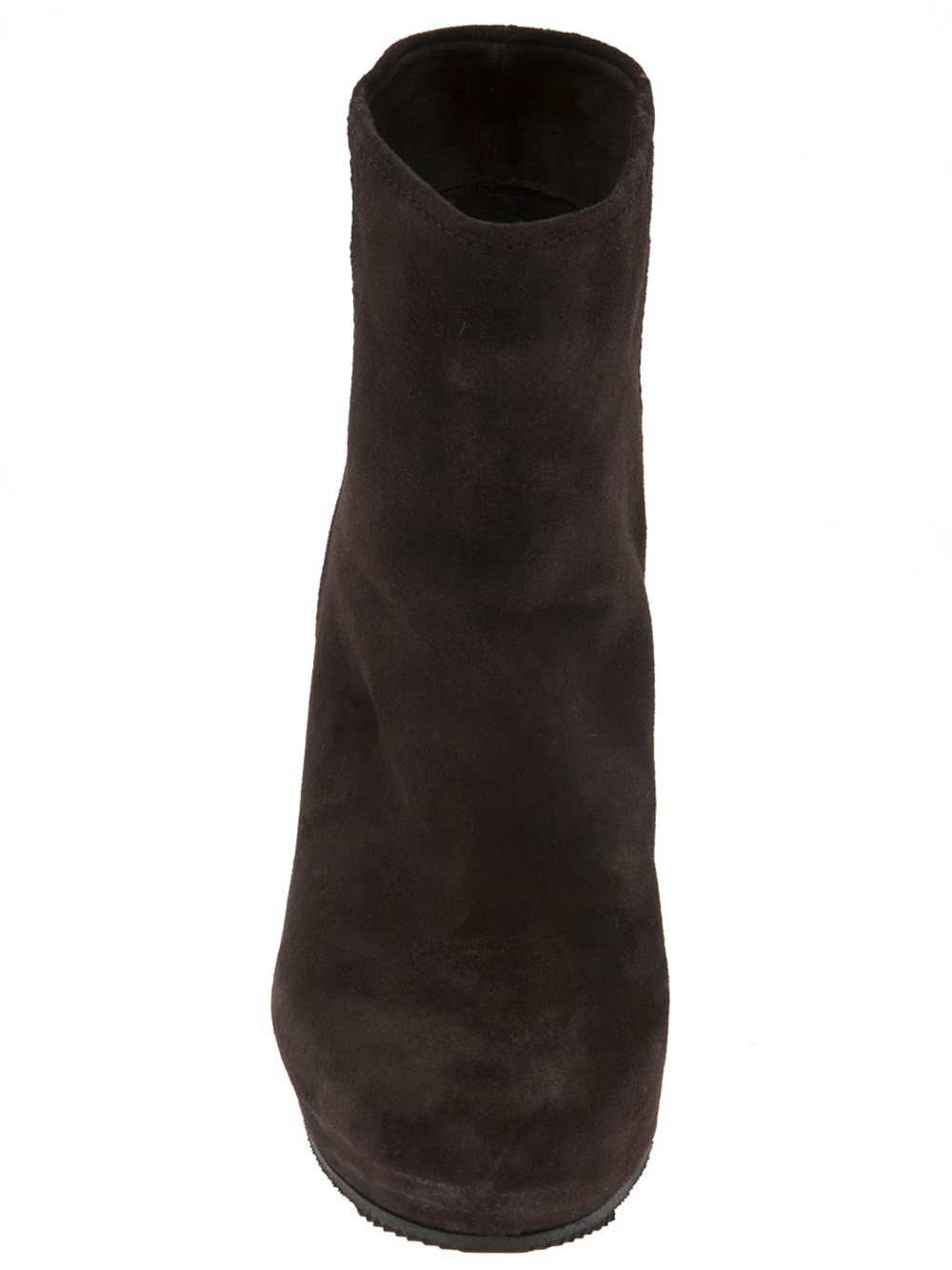 car shoe wedge boot in brown lyst
