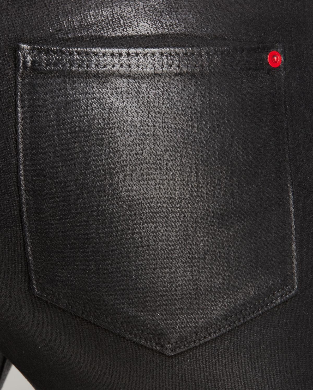 Spanx Spanx® Denim Signature Skinny Jeans In Black Wax