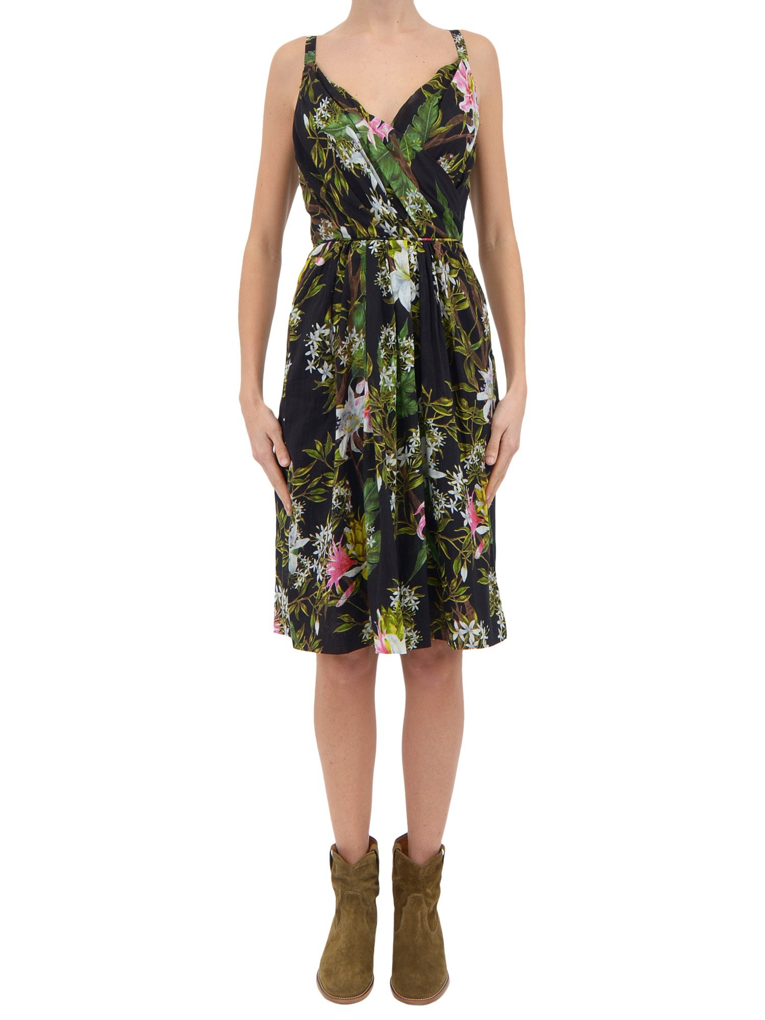 Etoile Isabel Marant Welby Dress in Green (Nero)