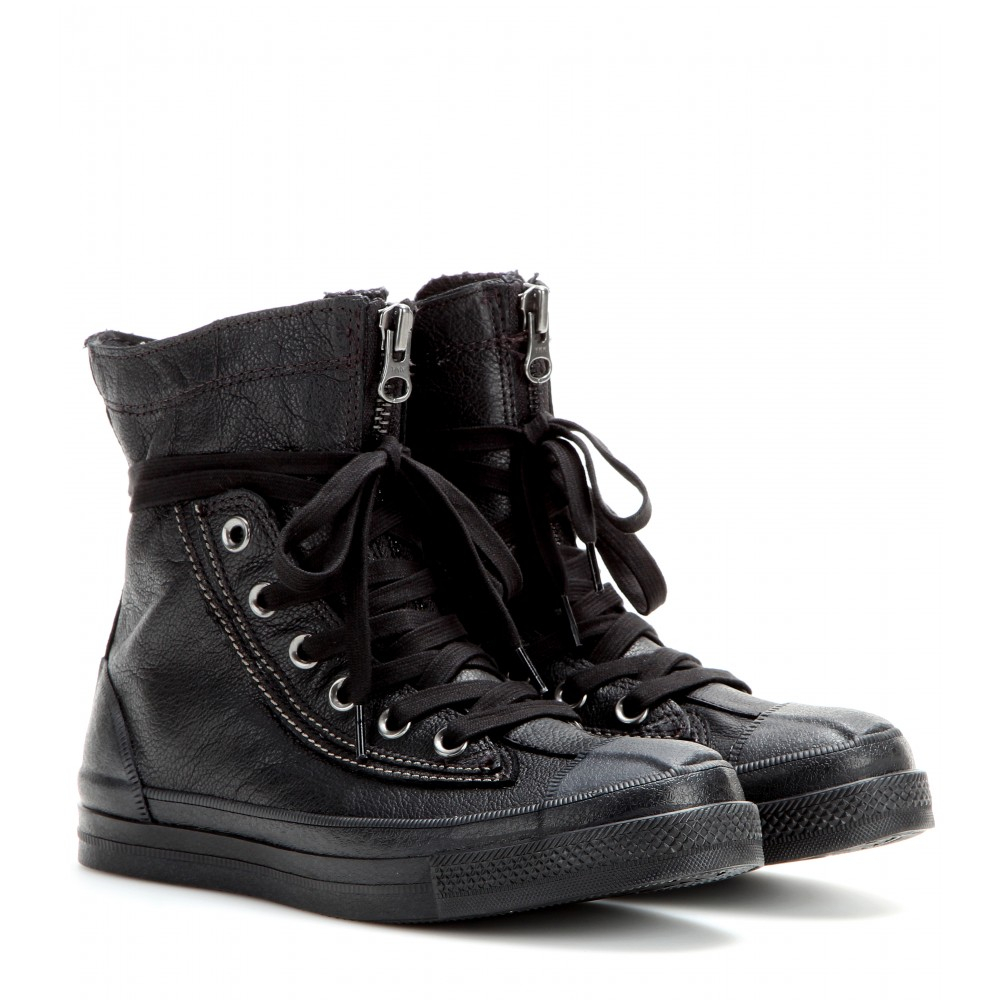 Converse Chuck Taylor All Star Combat Boots In Black Lyst