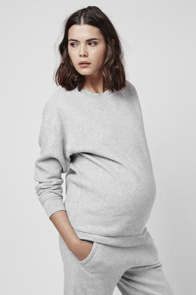 Topshop Womens **Maternity Brushed Hoodie - Discount Best Sale Cheap Sale New Order Cheap Price Sale Outlet Locations High Quality 3AGZ6