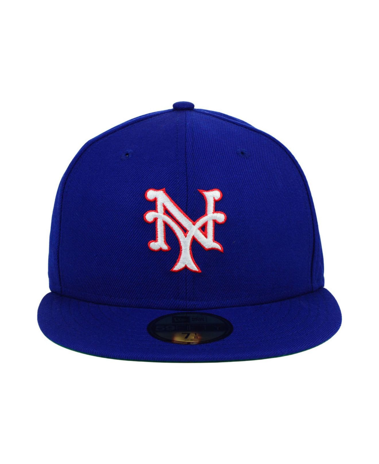 32d6dd97f3c74 shopping new york giants 1947 1957 hat mickeys place 0d1aa ecb45; amazon  lyst ktz new york giants mlb cooperstown 59fifty cap in blue for men 1319a  e4cbb