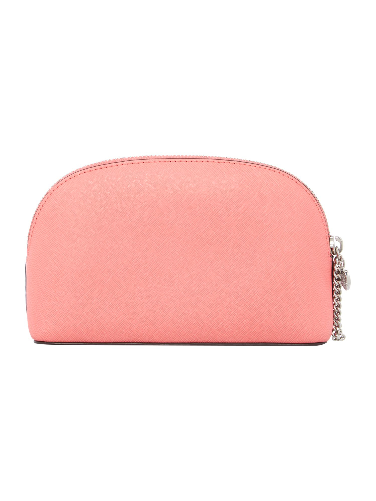 Michael kors Alex Coral Cosmetic Bag in Pink : Lyst