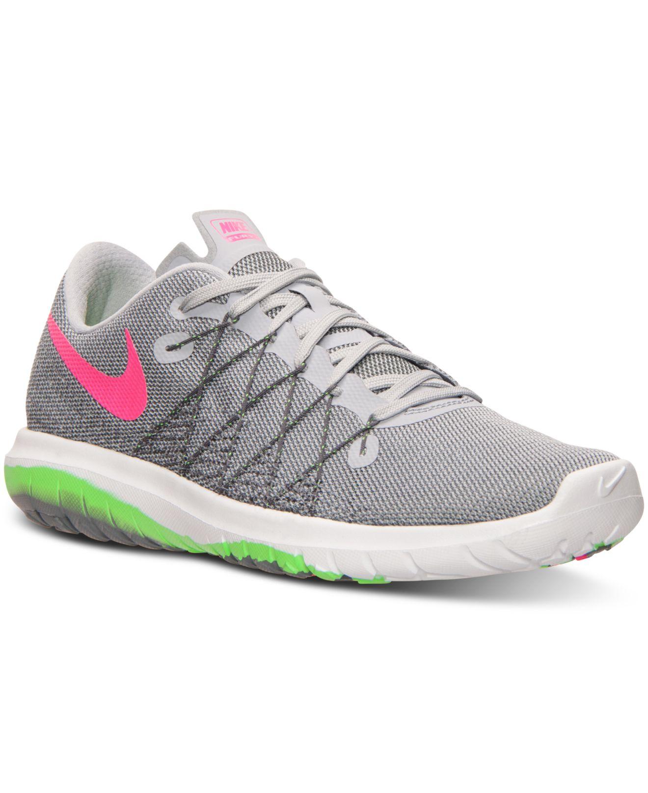 Lyst - Nike Women s Flex Fury 2 Running Sneakers From Finish Line in ... 9f22db4cf9