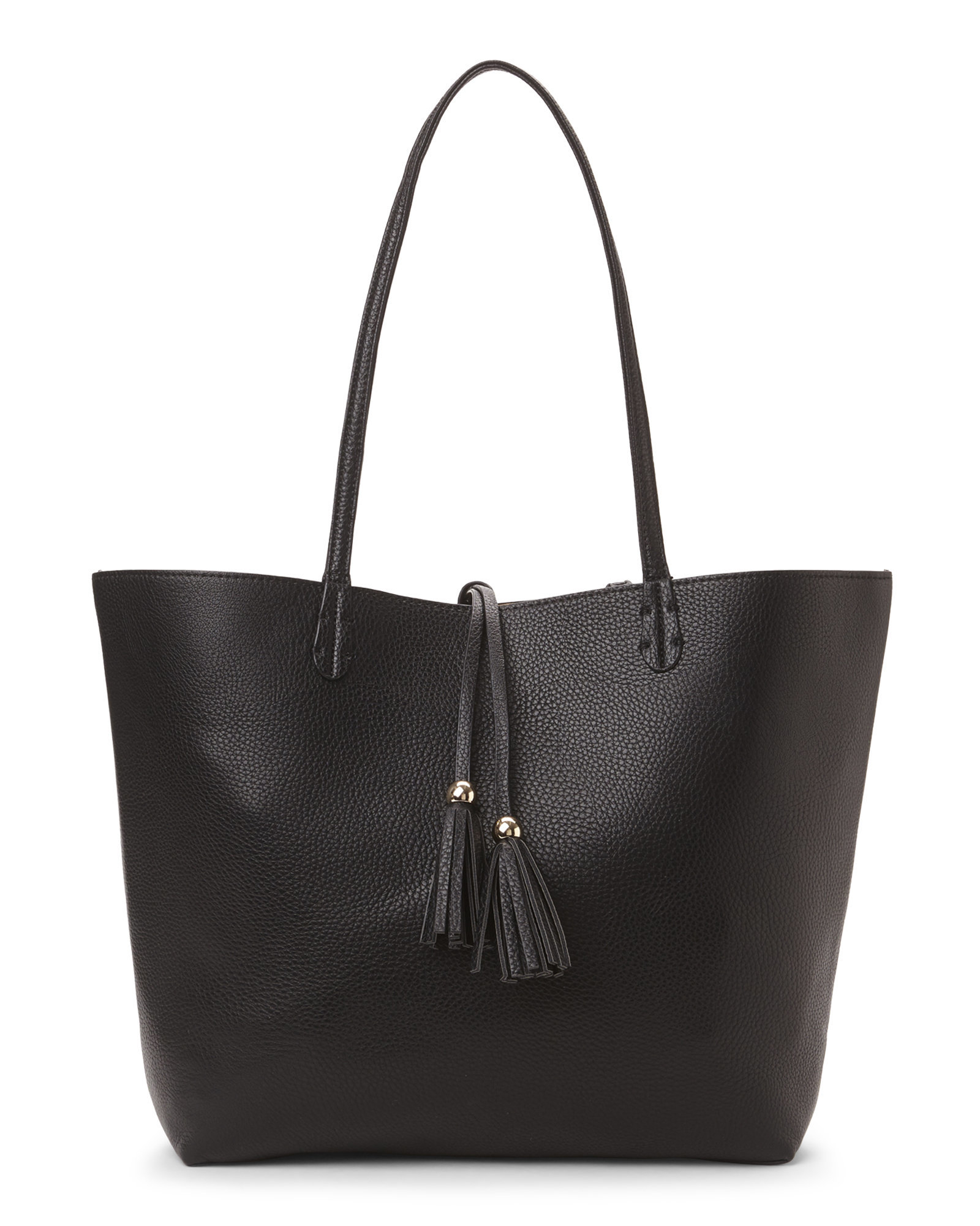 Imoshion Black & Tan Reversible Bag-In-Bag Tote in Black | Lyst