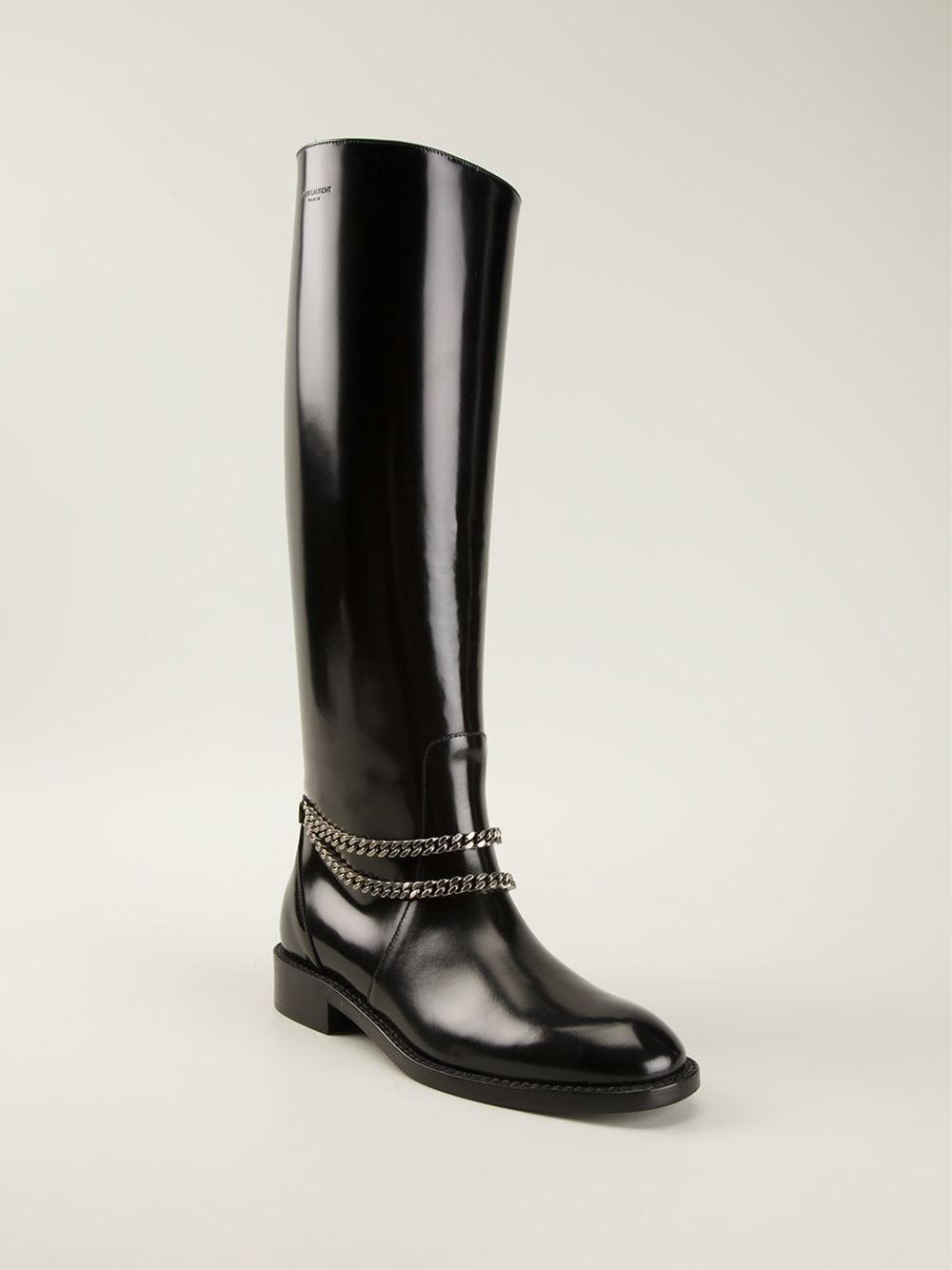 Saint Laurent Riding Boots