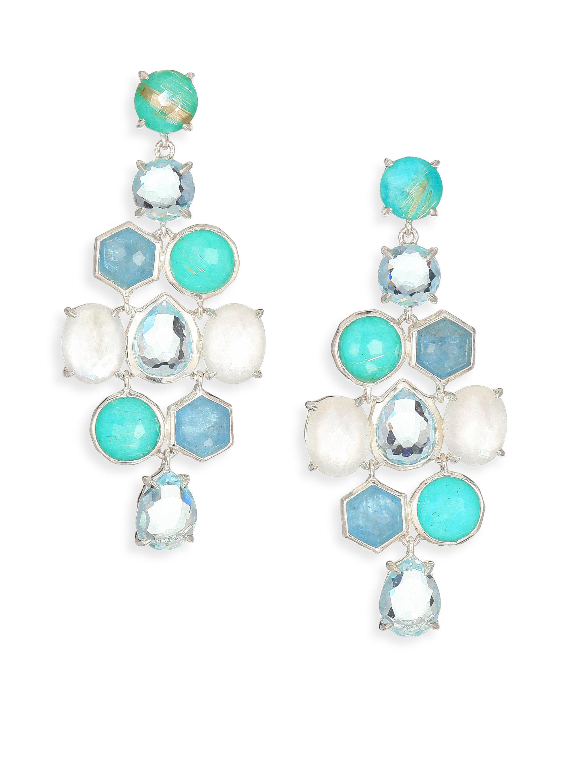 Ippolita Rock Candy Milky Aquamarine Larimar Aquamarine