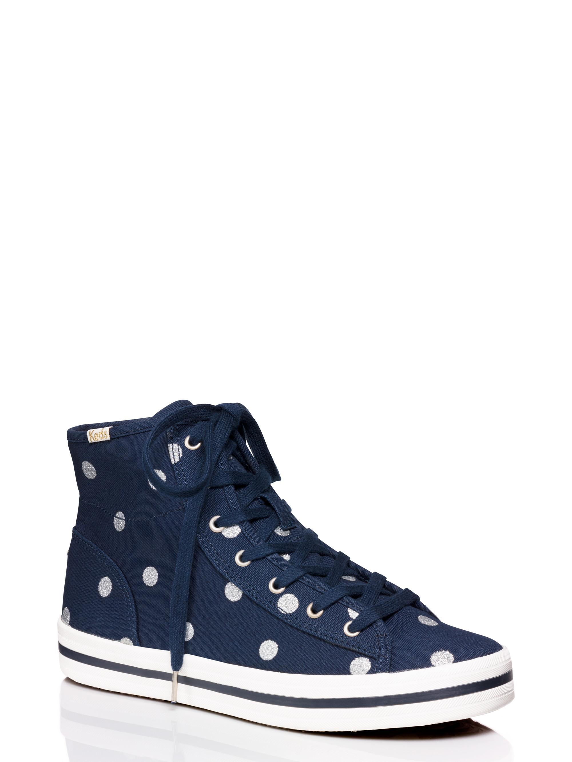 navy blue kate spade keds