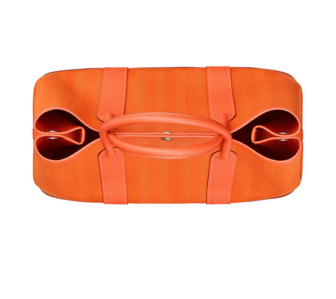 hermes dogon wallet replica - hermes garden party medium fire orange/fire orange