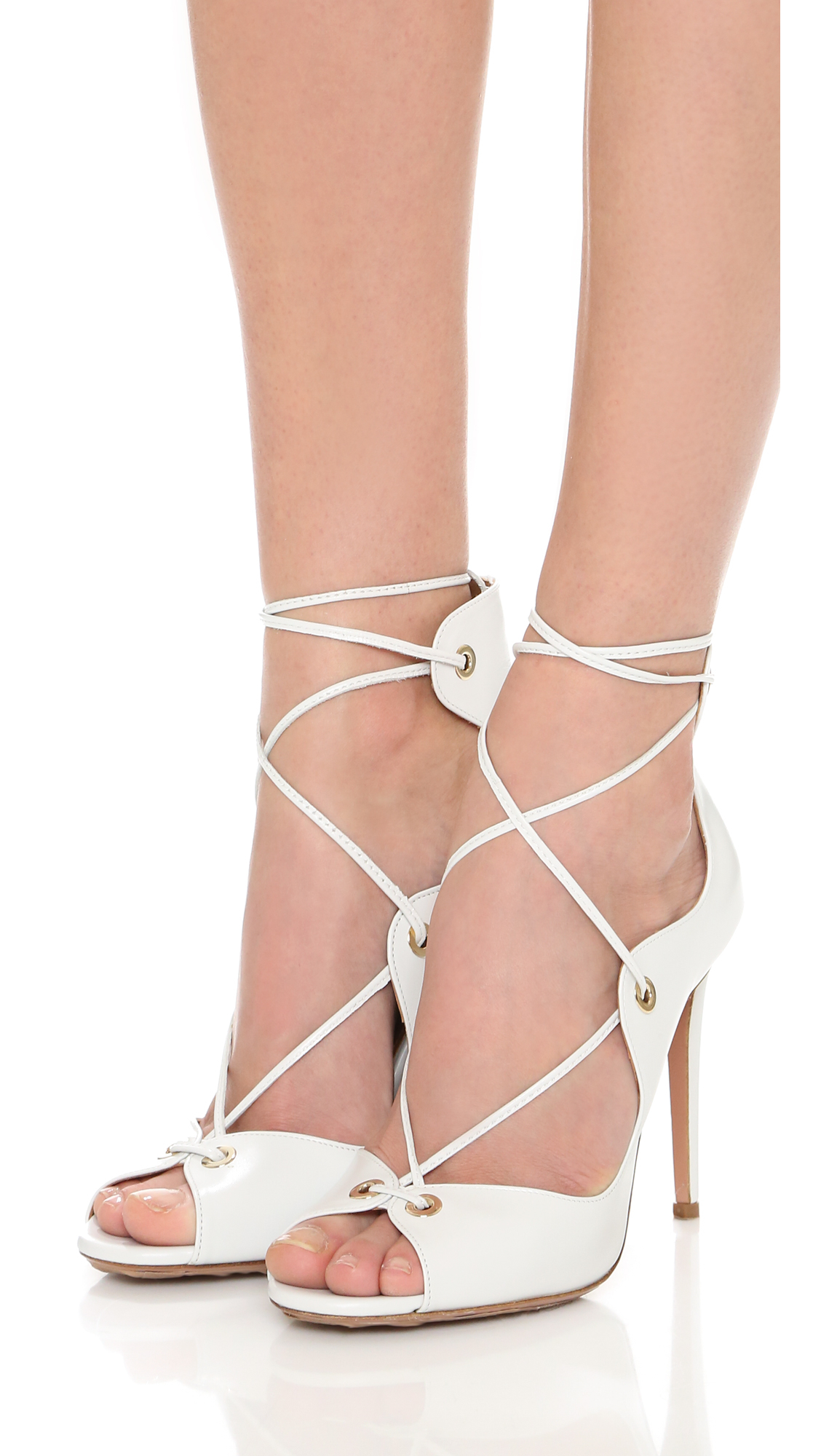 enjoy shopping Aquazzura Tango Lace-Up Sandals original for sale extremely sale online buy cheap cheapest price bvUPM
