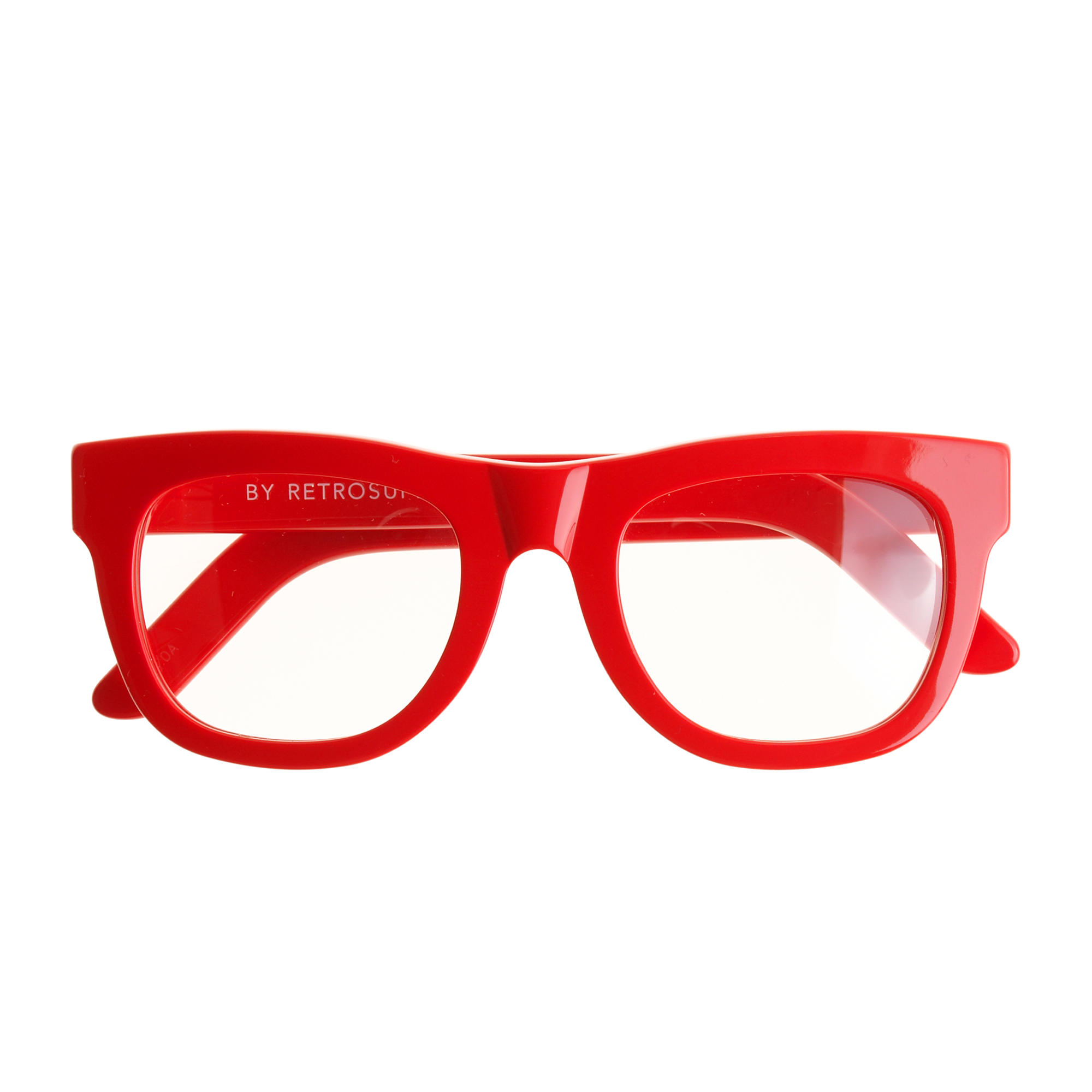 J Crew Super Ciccio Eyeglasses In Red Lyst