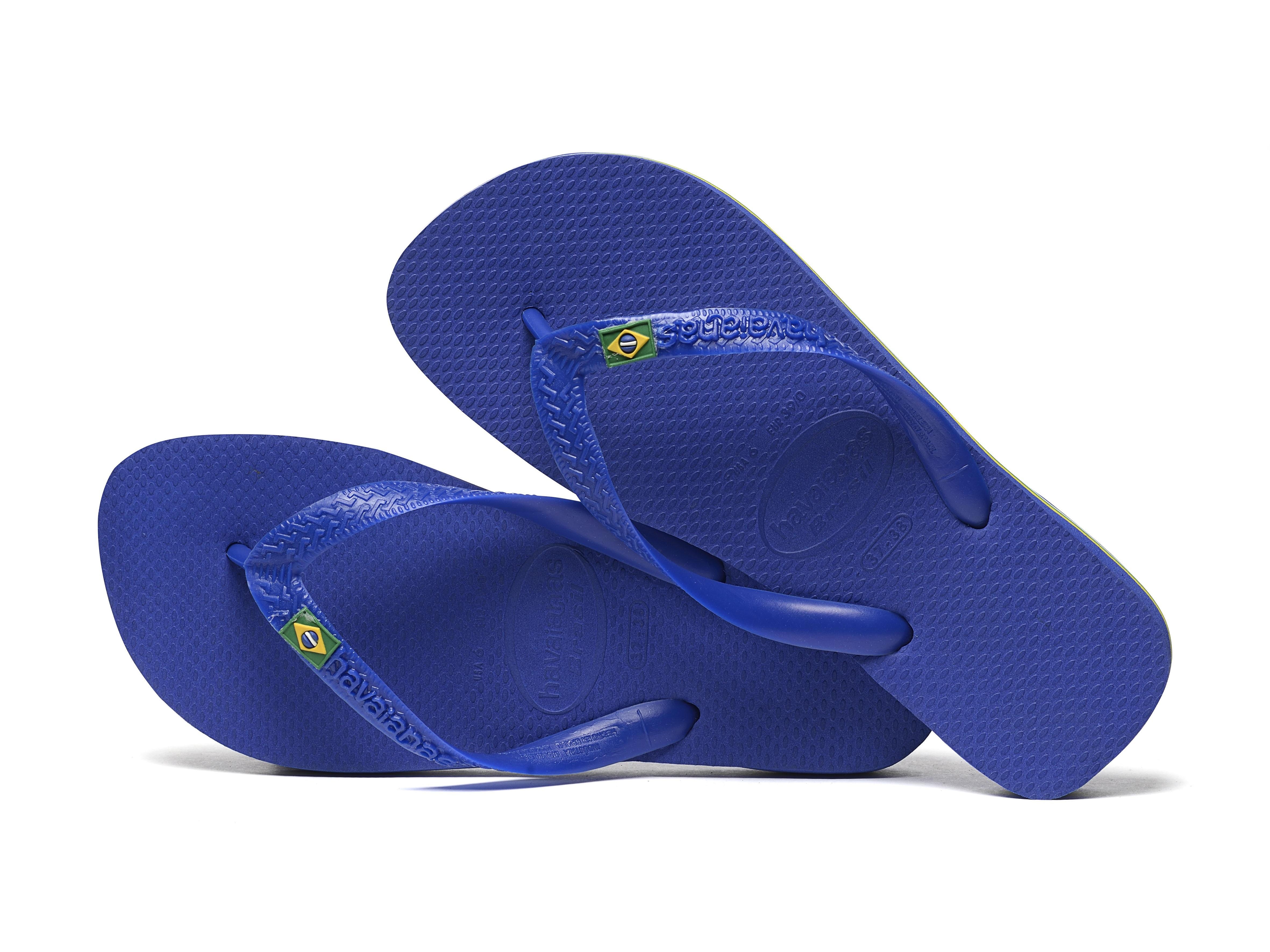 havaianas brasil flip flop in blue for men lyst. Black Bedroom Furniture Sets. Home Design Ideas