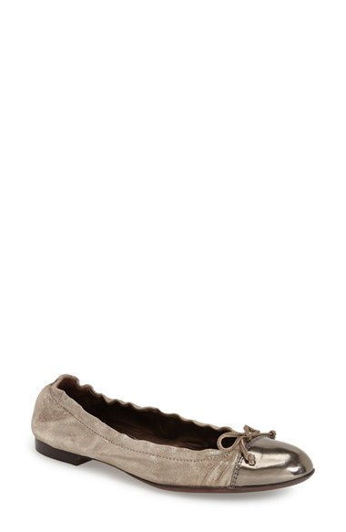 Lyst Agl Attilio Giusti Leombruni Cap Toe Leather Ballet