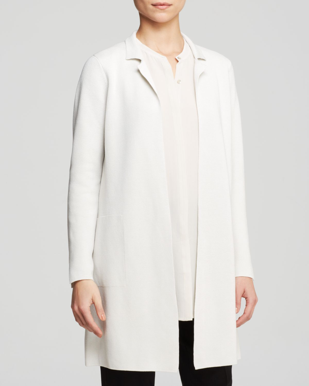 Long White Jacket - JacketIn