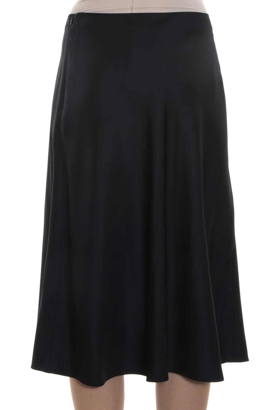 the row midi skirt in black lyst