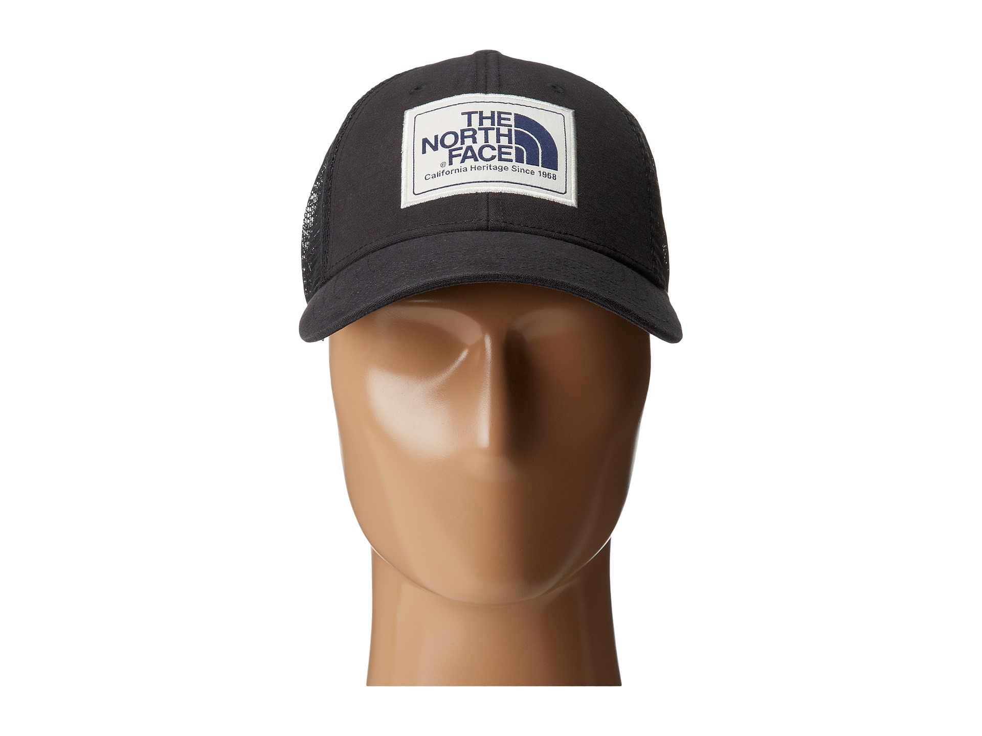 f722f28c The North Face Mudder Trucker Hat W/ Logo Patch in Black - Lyst