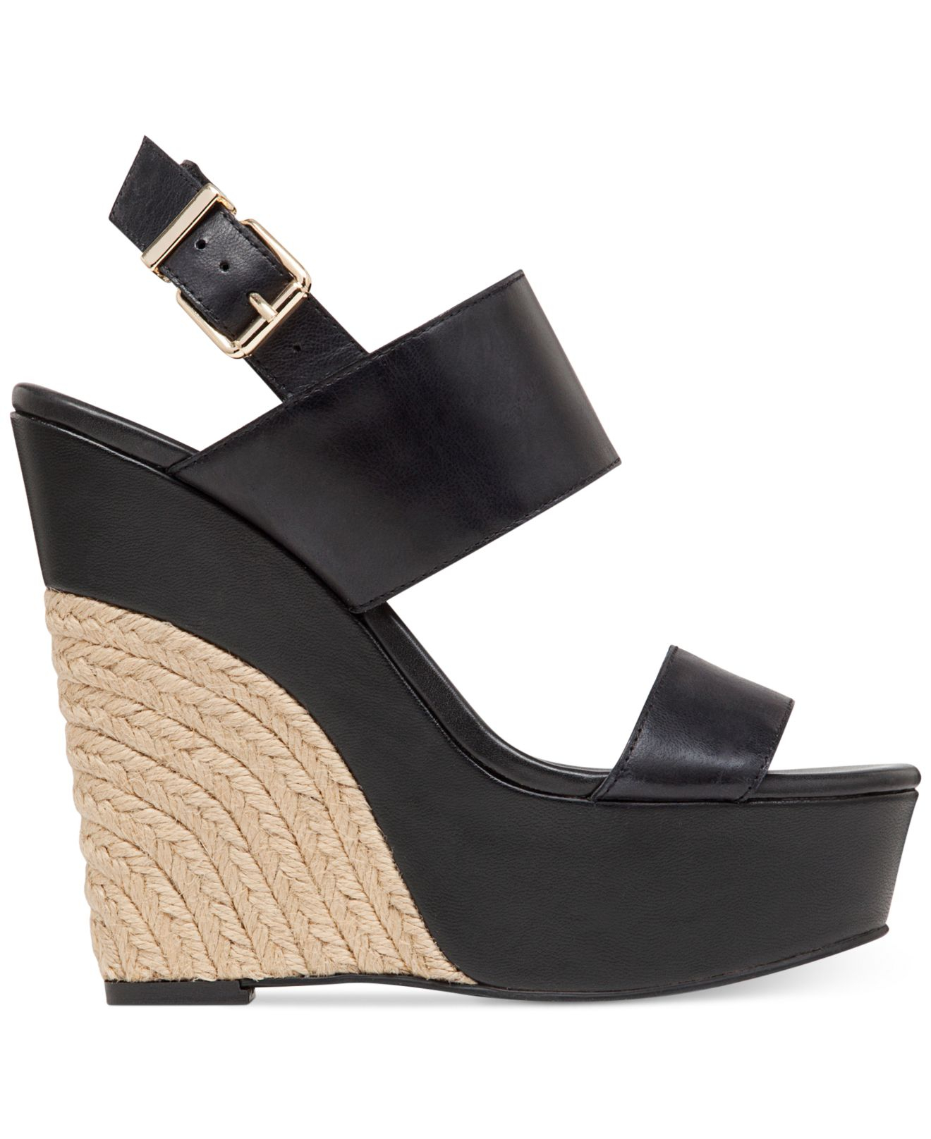 Jessica Simpson Anika Espadrille Platform Wedge Sandals In