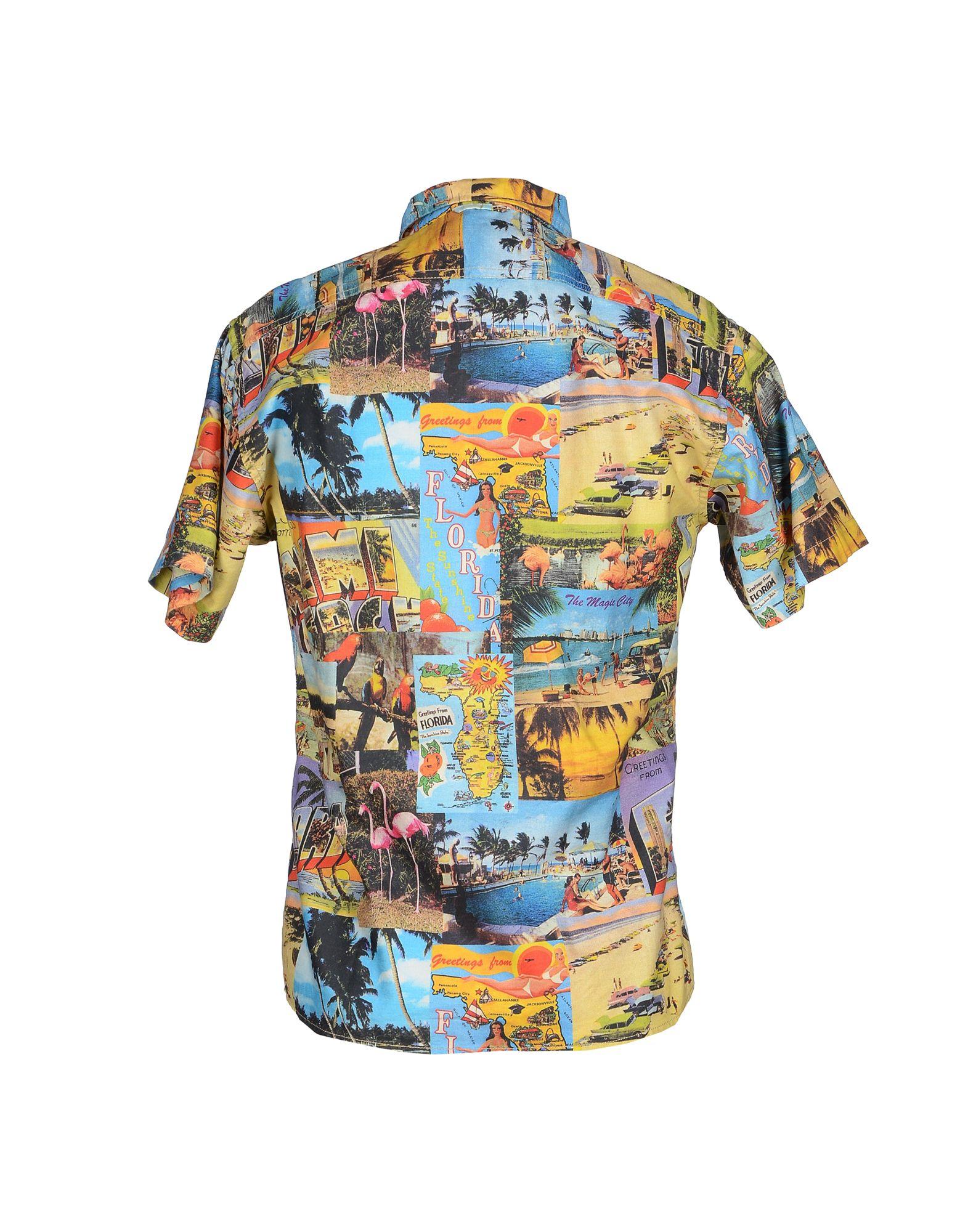 Franklin Marshall Shirt In Blue For Men Lyst