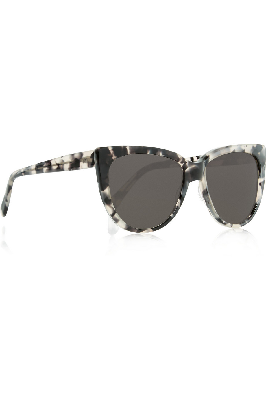 Prism Moscow Cat Eye Acetate Sunglasses in Grey