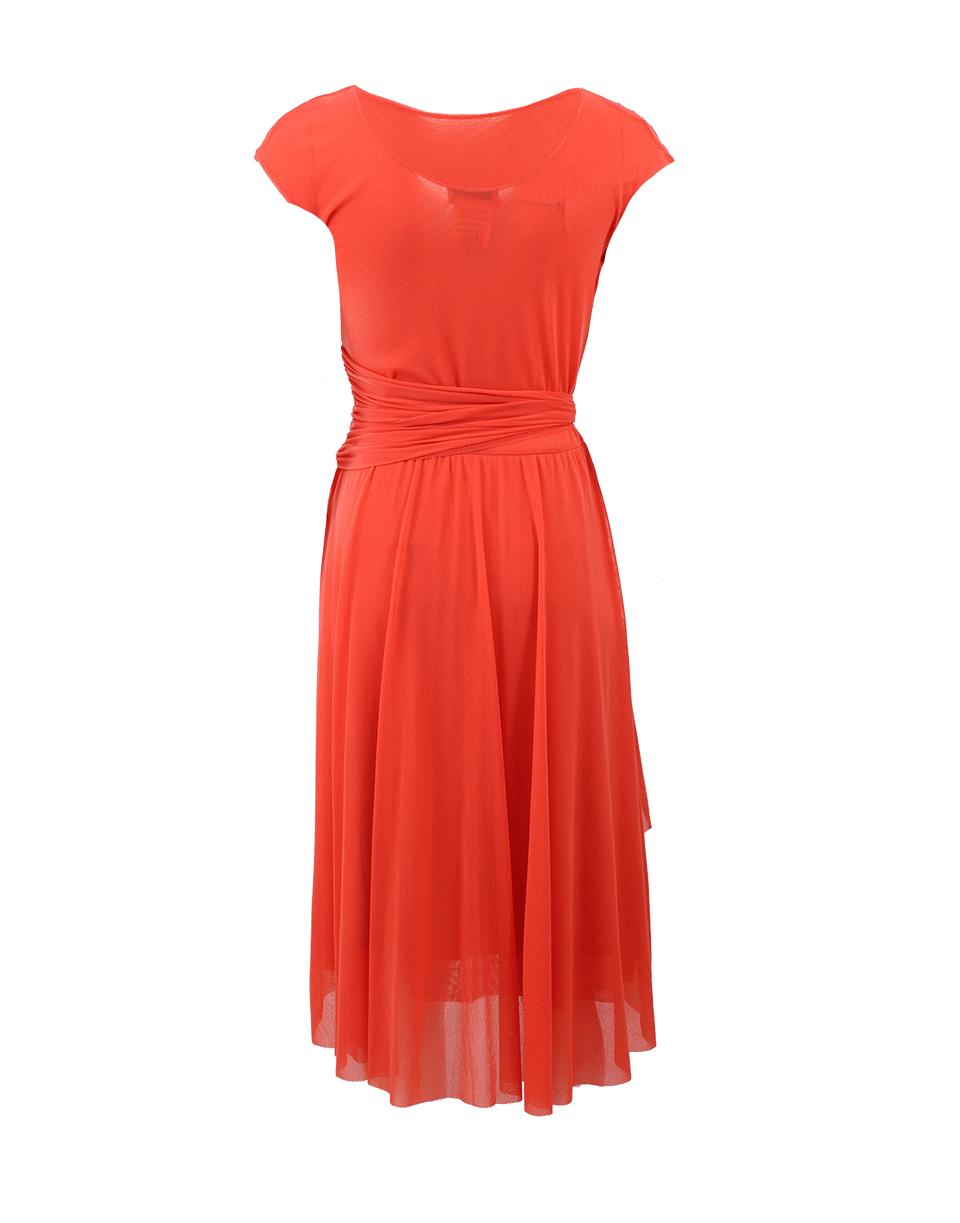 fuzzi wide belt solid dress in pink lyst