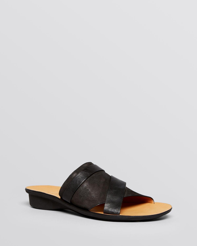 256ca1aab Lyst - Paul Green Flat Slide Platform Sandals - Bayside in Black