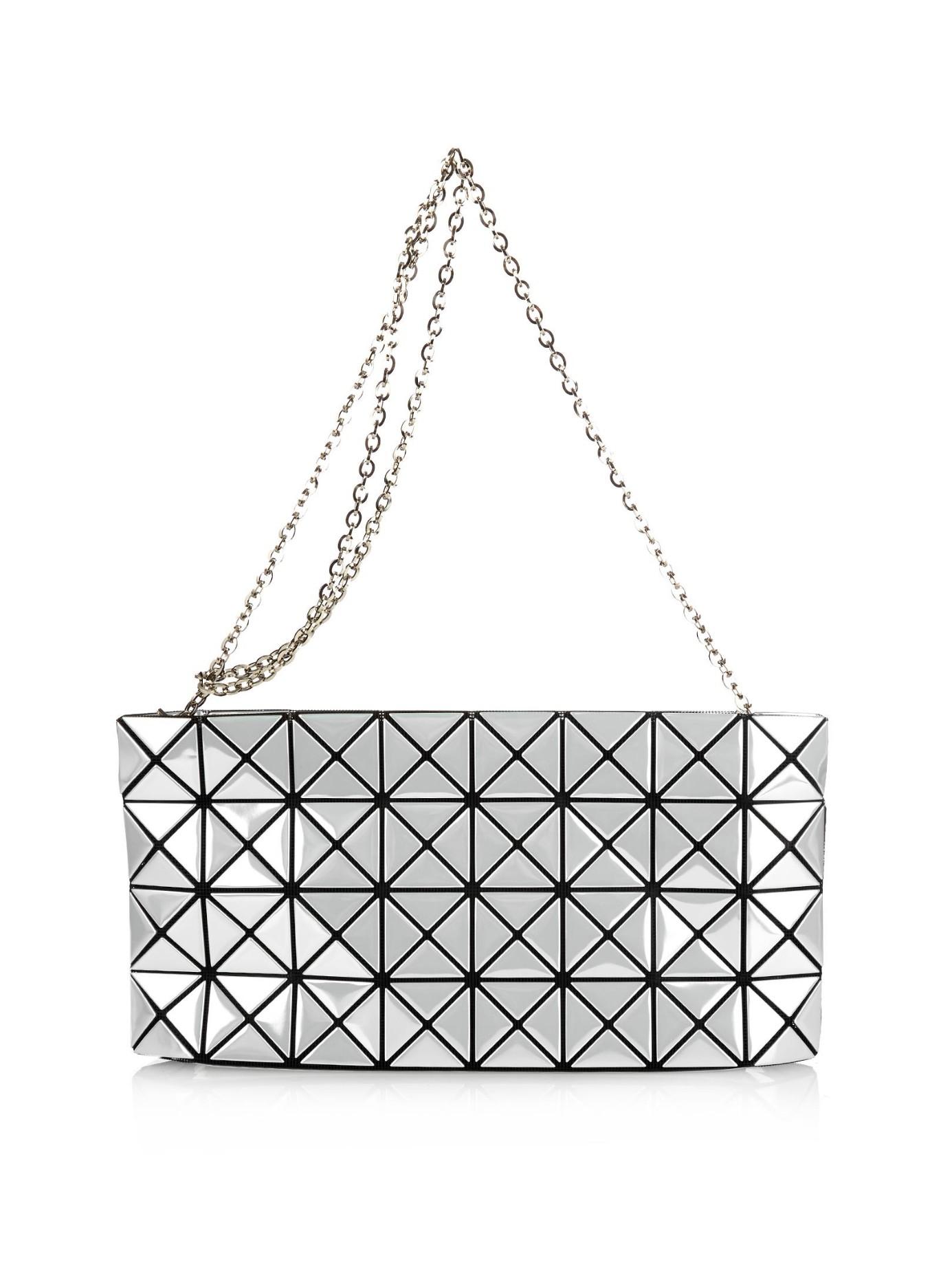 2b84f60de1c2 Lyst - Bao Bao Issey Miyake Prism Platinum Cross-body Bag in White