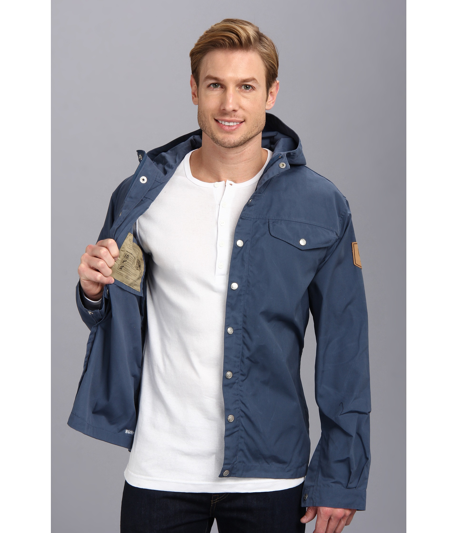 Fjallraven Greenland No1 Uncle Blue on Color Learn Rain