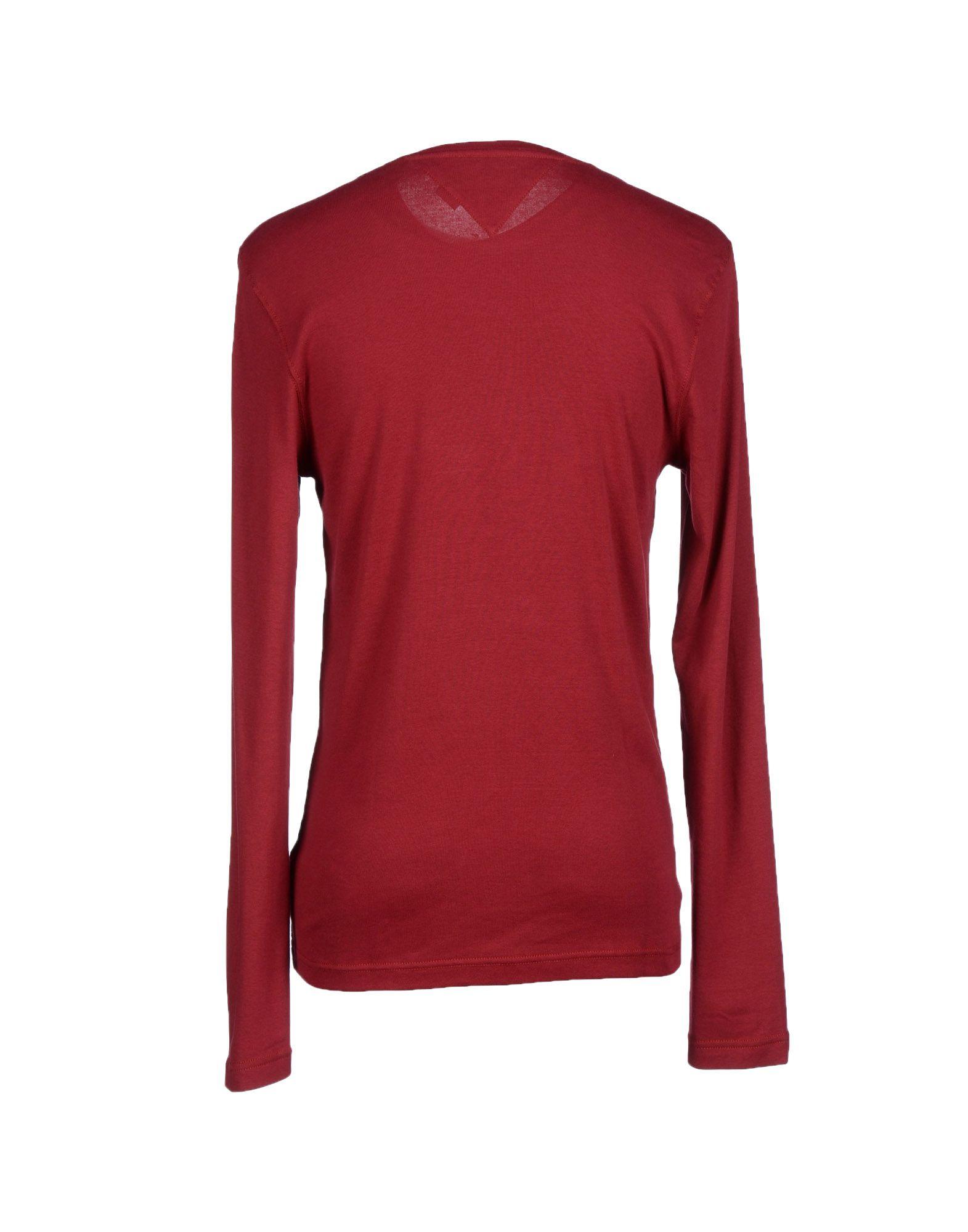 hilfiger denim t shirt in red for men lyst. Black Bedroom Furniture Sets. Home Design Ideas