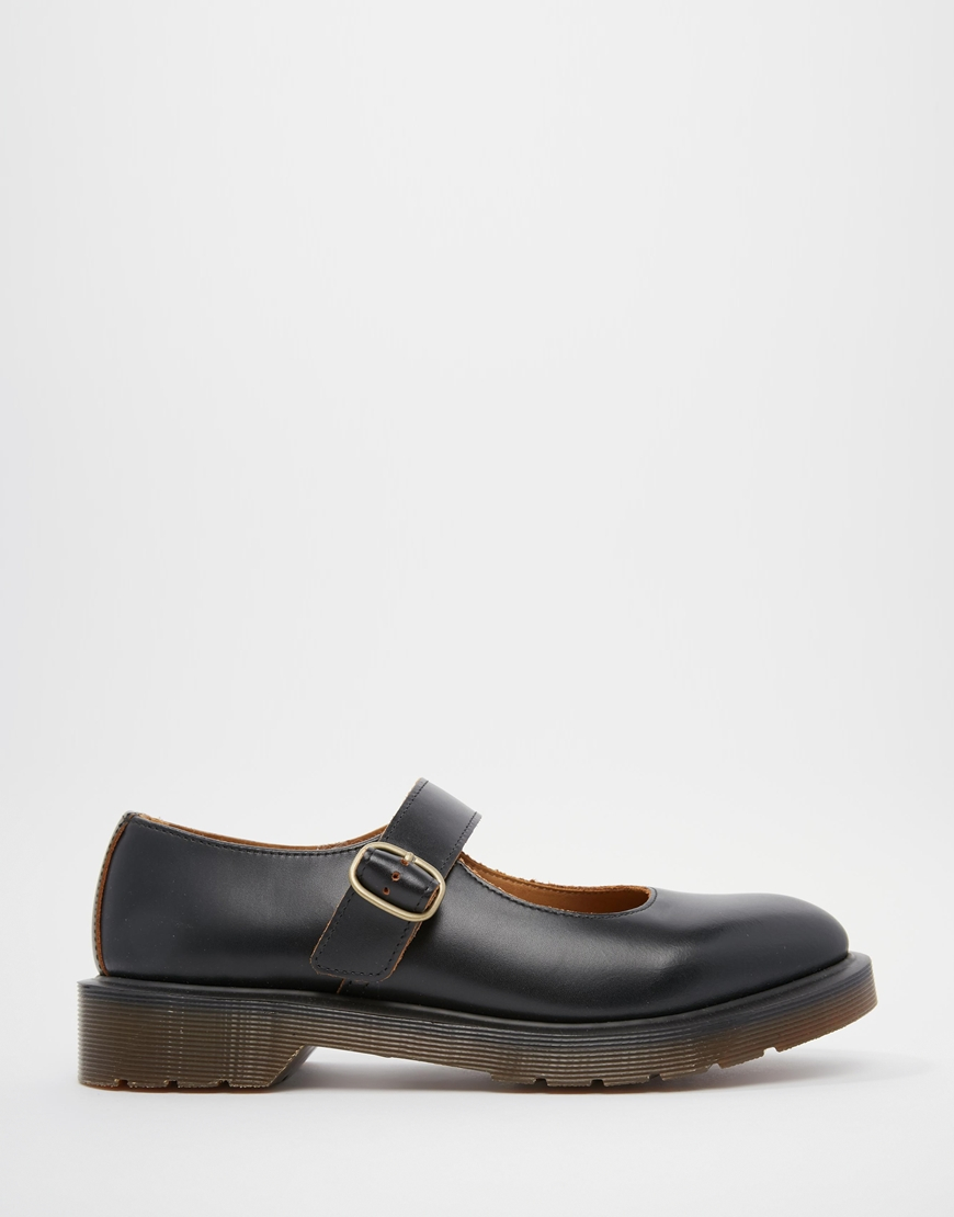 Lyst - Dr. Martens Archive Indica Mary Jane Flat Shoes in ...