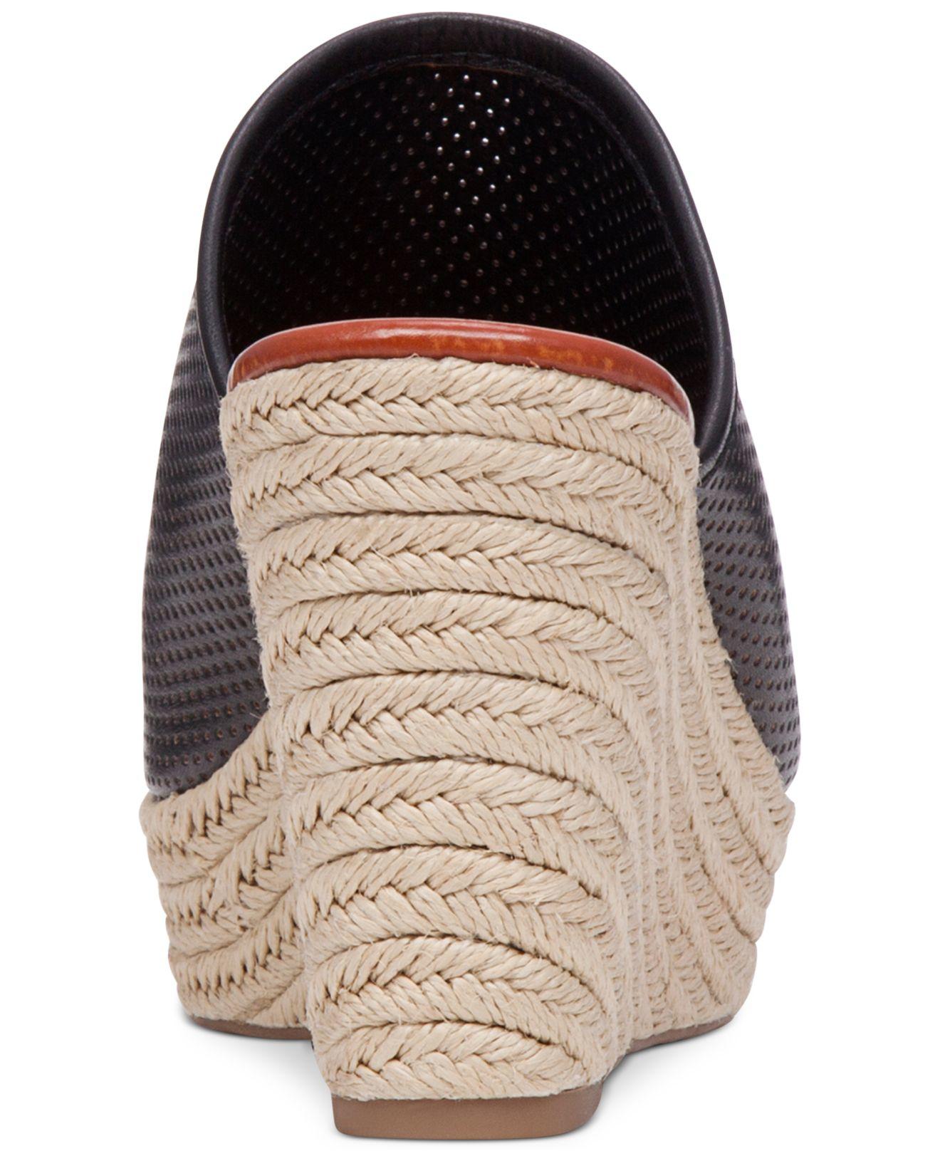 Lucky Brand Mackayla Rope Slide Sandals In Black Lyst