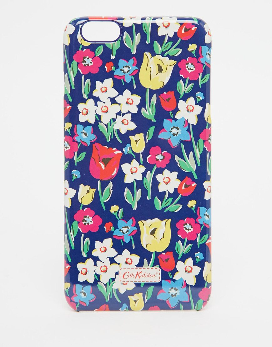 new arrival e5330 0771d Cath Kidston Blue Paradise Fields Iphone 6 Plus Case