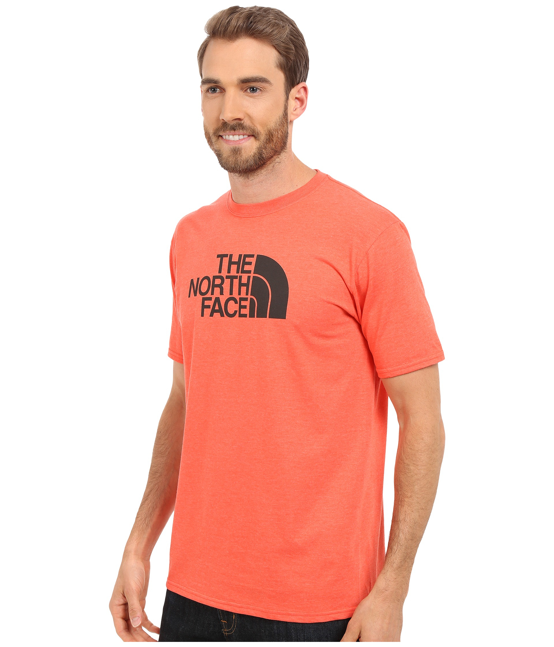 58702d613 Men's Red Short Sleeve Half Dome Tee