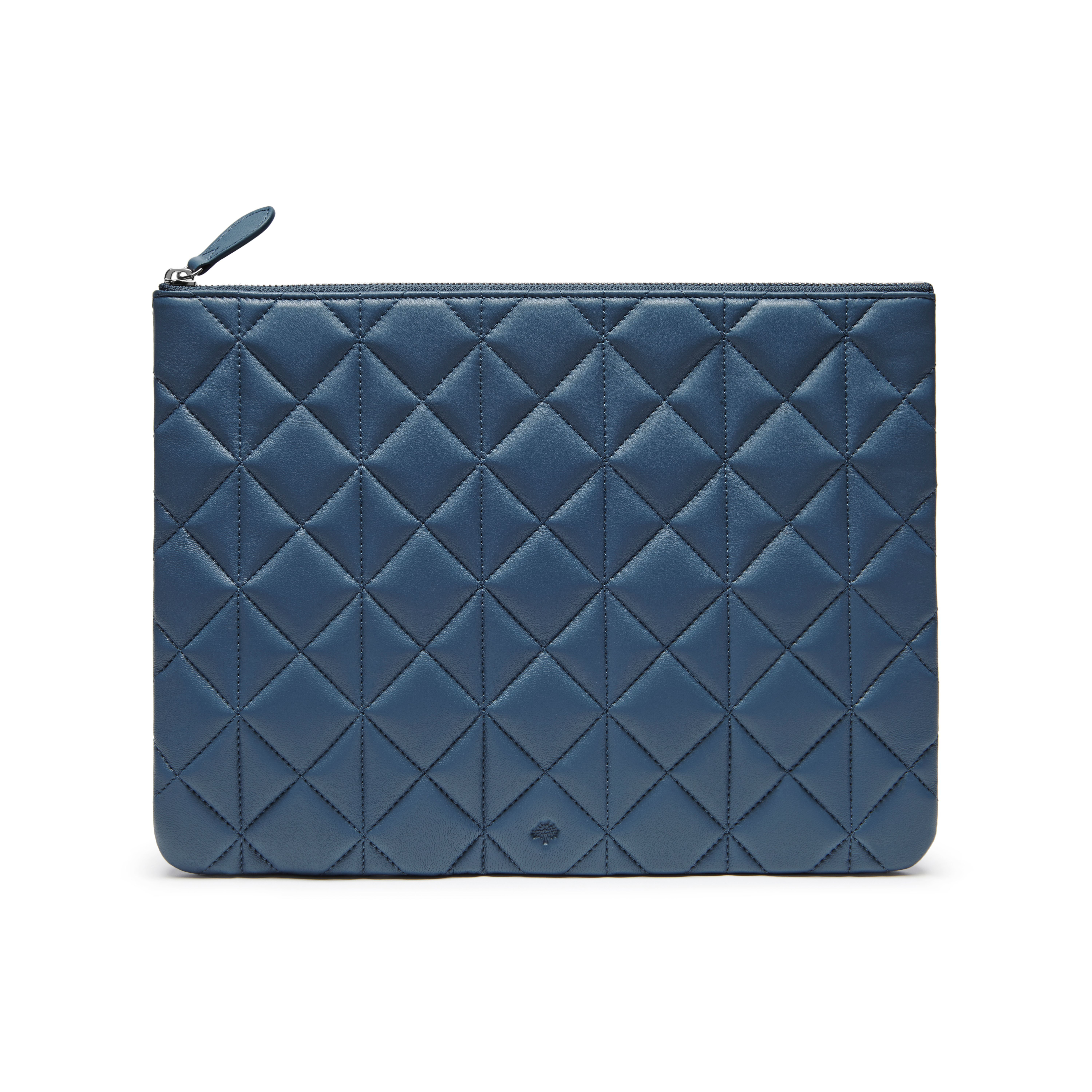 bc2caa0075 Mulberry Cara Delevingne Large Pouch in Gray - Lyst