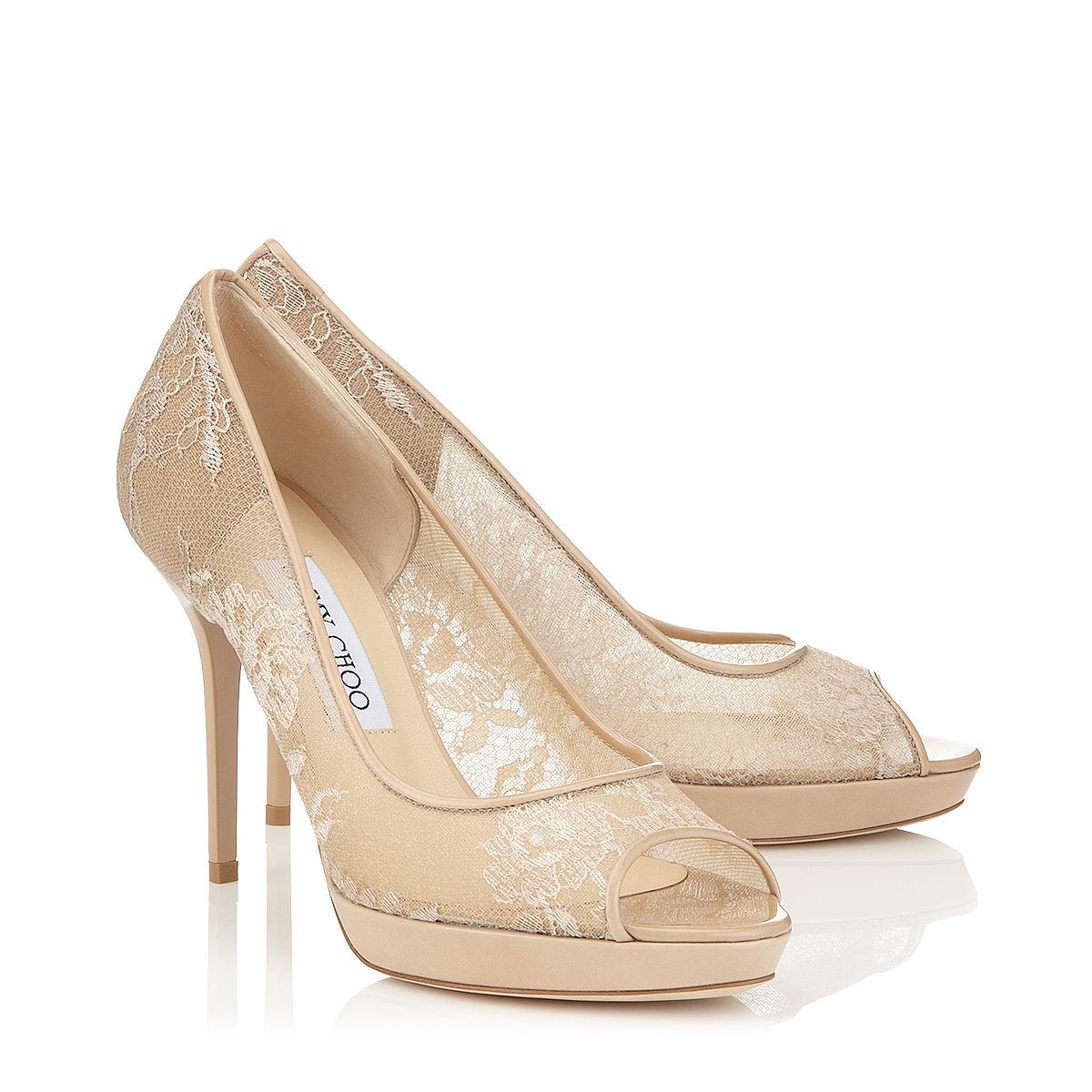 Jimmy Choo Luna Lace Shoes