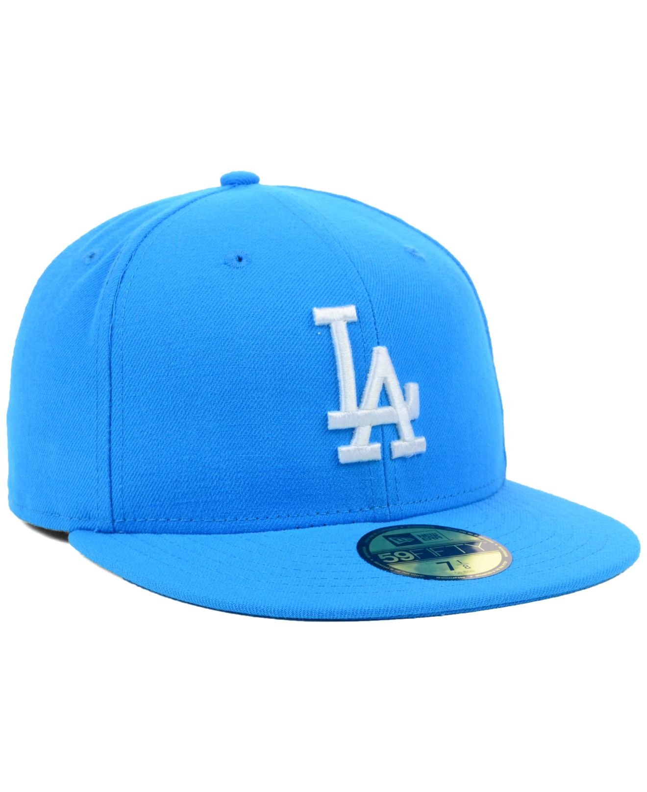 dd3bddb070276 Lyst - KTZ Los Angeles Dodgers Mlb C-dub 59fifty Cap in Blue for Men
