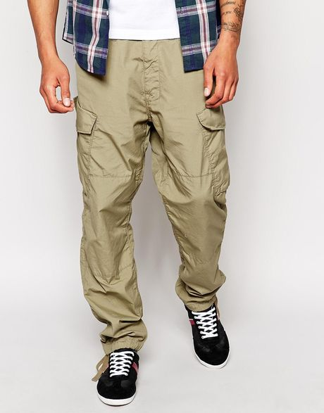 g star raw g star cargo pants rovic tapered fit ripstop in. Black Bedroom Furniture Sets. Home Design Ideas