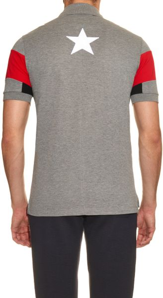 Givenchy Star Embroidered Polo Shirts | Mount Mercy University
