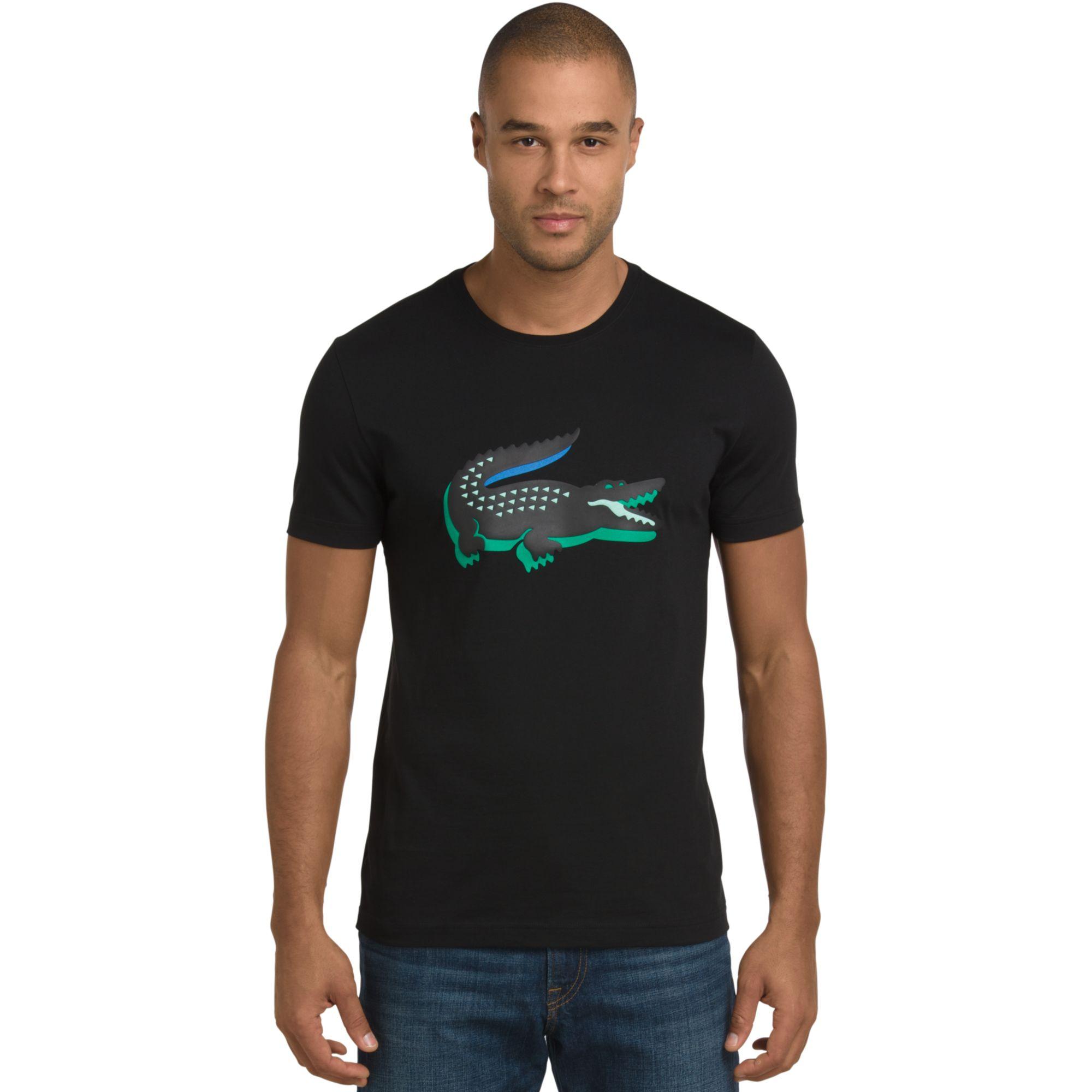 073eceef6555d Lacoste Sport Logo T Shirt Green
