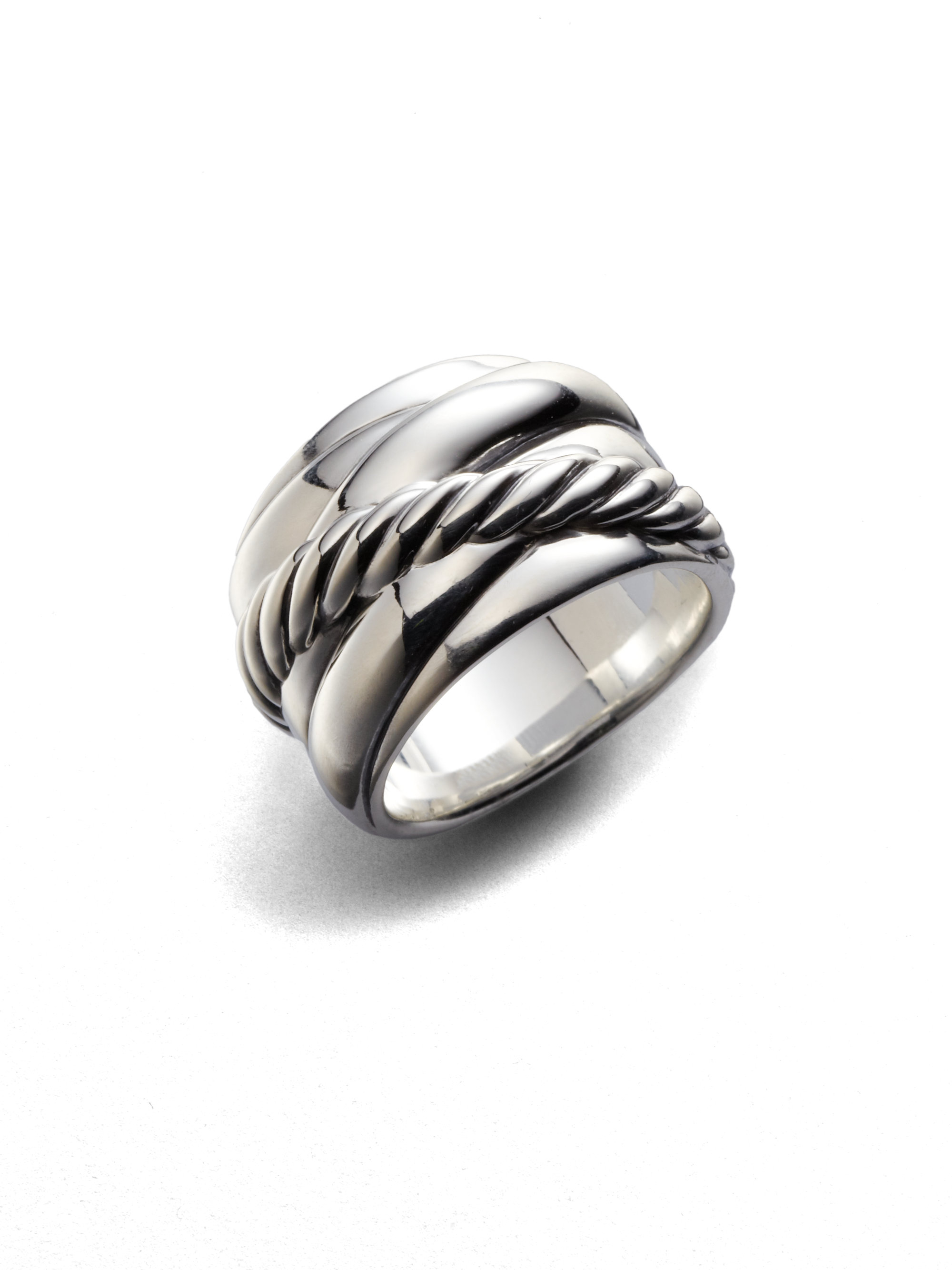 david yurman sterling silver ring in silver lyst