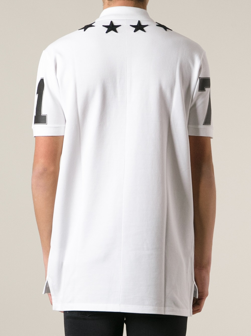 ccbb822d55ea Lyst - Givenchy Oversized Polo Shirt in White for Men