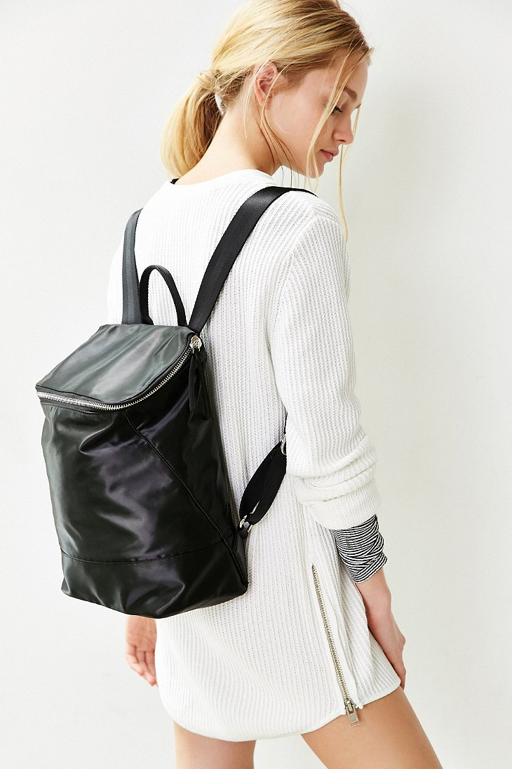 80ee9927f0f Lyst - Silence + Noise Zip Box Backpack in Black