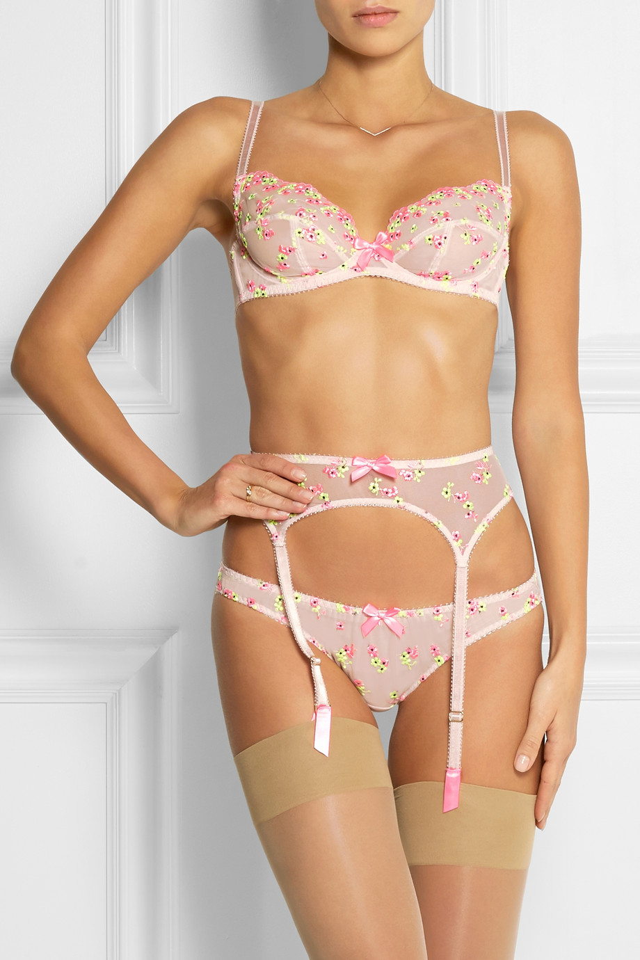 L Agent By Agent Provocateur Clementina Embroidered