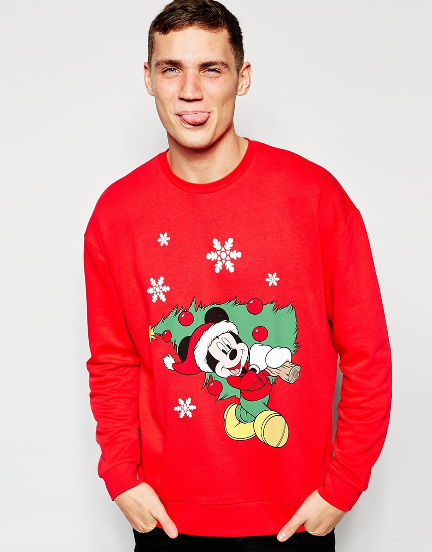 gallery - Mickey Mouse Christmas Sweater